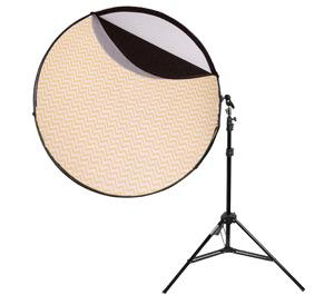 Interfit INT273 5 in 1 42 inch Reflector Support Arm and Air Stand Kit for Outdoor Studio Photography