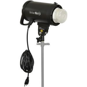 Interfit S1a 500ws HSS TTL IGBT Studio Flash Strobe Monolight with Reflector Frosted Dome and AC Power Cord