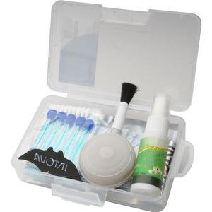 Intova Camera Care Kit-Silica Gel and Grease Anti-Fog Cleaner Blower Brush Swabs Case -
