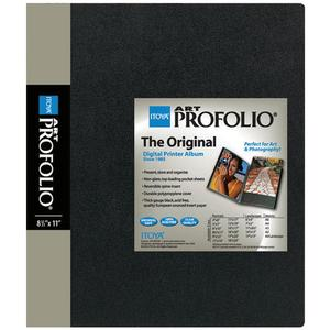 ITOYA ART Profolio 8 .50 x 11 Storage-Display Book Portfolio - 48 Sleeves-96 Views -
