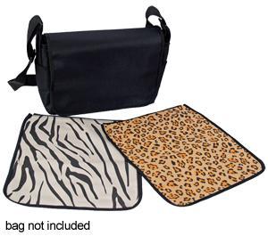 Jill-e Carry-all Cover-Safari Collection-Zebra-Leopard -