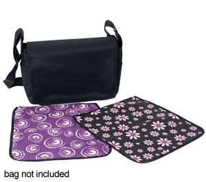 Jill-e Carry-all Cover - Fun and Fancy Collection - Pink-Purple -