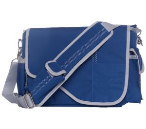 Jill-E Sailcloth Digital SLR Camera Messenger Bag (Blue)