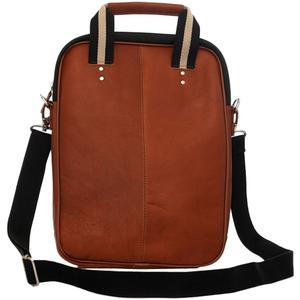Jill-e Jack Lenox 13 inch Leather Laptop Portfolio-Tan -