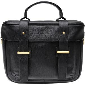 Jill-e Juliette All Leather DSLR Camera Bag (Black)