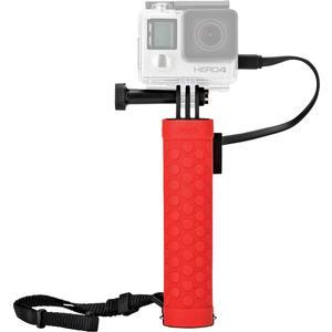 Joby Rechargeable Battery Hand Grip Monopod for Action Cameras and Smartphones