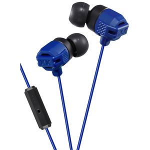 JVC HA-FR202 XTREME XPLOSIVES Inner Ear Headphones with Remote and Mic - Blue -