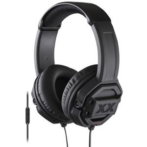 JVC HA-MR60X XTREME XPLOSIVES Around-Ear Headphones with Remote and Mic - Black -