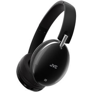 JVC HA-S90BN Noise Cancelling On-Ear Bluetooth Headphones - Black -