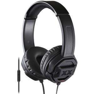 JVC HA-SR50X XTREME XPLOSIVES On-ear Headphones with Remote and Mic - Black -