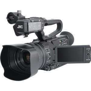JVC GY-HM200U Ultra 4K HD 4KCAM Professional Camcorder & Top Handle Audio Unit