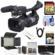 JVC GY-HM620U ProHD Professional Mobile News Camcorder with Microphone + 64GB Card + LED Video Light + 3 Filters + HDMI Cable + Kit