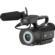 JVC GY-LS300CHU Ultra 4K HD 4KCAM Super 35 Pro Camcorder & Mic Top Handle Audio Unit