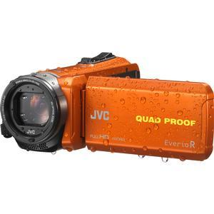 JVC Everio GZ-R440 Quad Proof Full HD Digital Video Camera Camcorder - Orange -