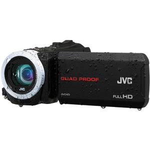 JVC Everio GZ-R10 Quad Proof Full HD Digital Video Camera Camcorder (Black)