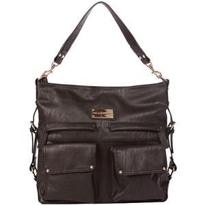 Kelly Moore 2 Sues Camera/Tablet Bag with Shoulder & Messenger Strap (Black) includes Removable Padded Basket