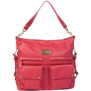 Kelly Moore 2 Sues Camera/Tablet Bag with Shoulder & Messenger Strap (Raspberry)