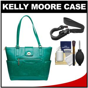 Kelly Moore Esther Camera/Tablet Bag with Shoulder Straps (Kelly Green) with Camera Strap + Accessory Kit