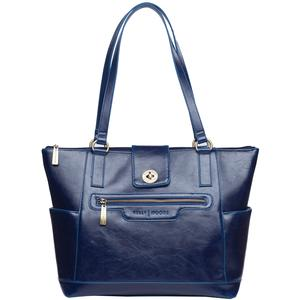 Kelly Moore Esther Camera/Tablet Bag with Shoulder Straps (Sapphire) Includes Removable Padded Basket