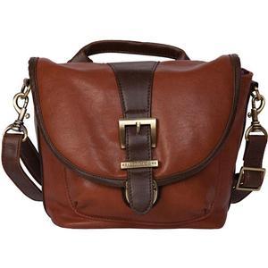 Kelly Moore Riva Camera Bag with Adjustable Messenger Strap & Shoulder Pad (Saddle)