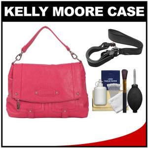 Kelly Moore Songbird Camera/Tablet Bag with Shoulder & Messenger Strap (Orchid Pink) with Camera Strap + Accessory Kit