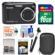 Kodak PixPro Friendly Zoom FZ43 Digital Camera (Black) with 16GB Card + Case + Selfie Stick + Kit