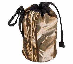 Lenscoat Neoprene Lens Pouch - Large Wide (Realtree Max4)