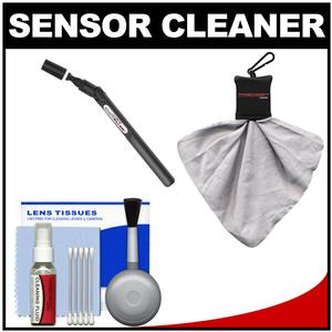 Lenspen SensorKlear II Digital SLR Camera Sensor Cleaning Pen + Kit for Canon Nikon Fuji Olympus Panasonic Pentax & Sony ILC/DSLR Cameras