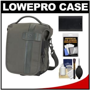 Lowepro Classified 140 AW Digital SLR Camera Bag/Case (Sepia) with LP-E6 Battery + Accessory Kit for Canon EOS 6D 7D 70D 5D Mark II III