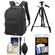 Lowepro Passport Digital SLR Camera Backpack Case (Black) with Tripod + Accessory Kit