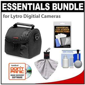 Essentials Bundle for Lytro Digital Cameras with Precision Design Case and Cleaning and Accessory Kit