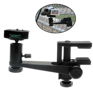 Makaw Video Perch Camera Mount Clamp with Ballhead and Quick Release for Digital Cameras Camcorders & Spotting Scopes