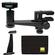 Makaw Video Perch Camera Mount Clamp with Ballhead and Quick Release with Binoculars Tripod Adapter + Cleaning Cloth