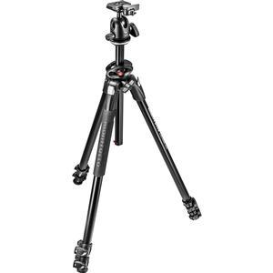 Manfrotto 290 Dual 68 inch Professional Tripod with Ball Head Kit
