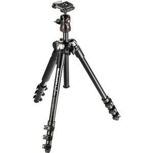 Manfrotto BeFree 56.7 inch Compact Tripod with Ball Head and Case - Black -