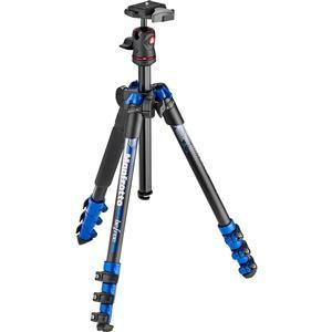 Manfrotto BeFree 56.7 inch Color Compact Tripod with Ball Head and Case - Blue -