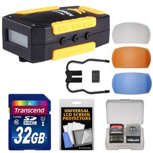 Offer Marrex MX-G10M GPS Geotag Adapter for Canon DSLR Cameras with 32GB Card + 3 Pop-Up Flash Diffusers + Kit Before Too Late