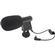 Melamount Mini Condenser Microphone for DSLRs, Camcorders & Video Cameras