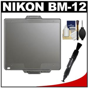 Nikon BM-12 LCD Monitor Cover for D810 D800 and D800E Digital SLR Camera with Cleaning Kit