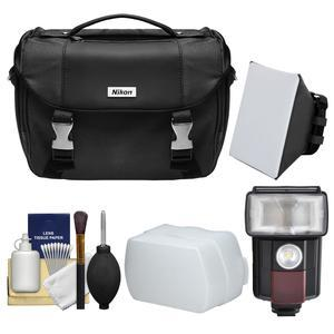 Buy Now Nikon Deluxe Digital SLR Camera Case – Gadget Bag with LED Video Light & Flash + Soft Box + Diffuser + Kit Before Special Offer Ends