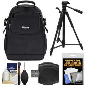 Buy Nikon 17006 Compact DSLR Camera Backpack Case with Tripod + Kit Before Special Offer Ends