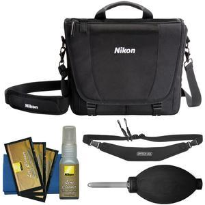 Nikon 17007 DSLR Camera Courier Bag with Sling Strap + Kit