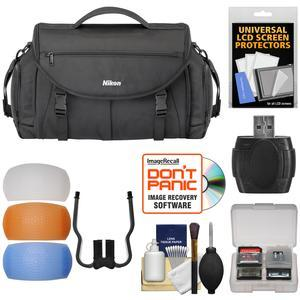 Nikon 17008 Large Pro DSLR Camera Bag with Diffuser Filter Set + Kit
