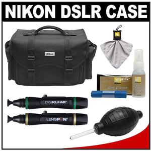 Nikon 5874 Digital SLR Camera Case - Gadget Bag with Complete Nikon Cleaning Kit