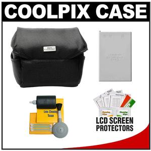 Nikon Coolpix 9623 Digital Camera Case with EN-EL5 Battery + Cleaning Kit