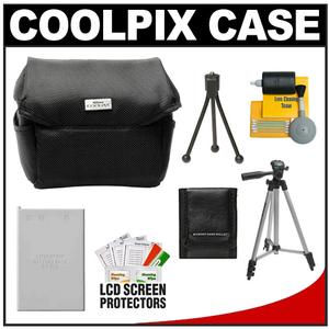 Nikon Coolpix 9623 Digital Camera Case with EN-EL5 Battery + Tripod + Accessory Kit