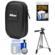 Nikon Coolpix Nylon Digital Camera Carrying Case with Tripod + Accessory Kit