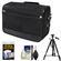Nikon DSLR Camera/Tablet Messenger Shoulder Bag with Tripod + Accessory Kit