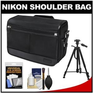 Offer Nikon DSLR Camera/Tablet Messenger Shoulder Bag with Tripod + Accessory Kit Before Special Offer Ends