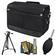 Nikon DSLR Camera/Tablet Messenger Shoulder Bag with Nikon 60